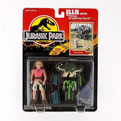 Ellie Sattler - Classic 1993 Jurassic Park Action Figure W1 - Kenner