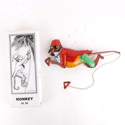 Climbing Monkey - Classic Windup Tin Toy