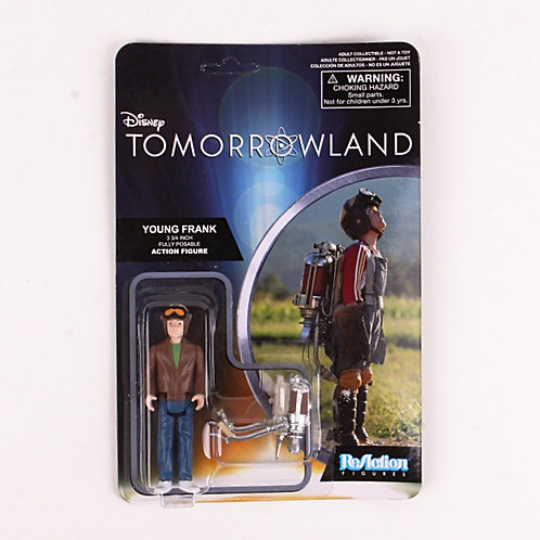 Young Frank - Modern 2015 Tomorrowland - Funko / ReAction Action Figure