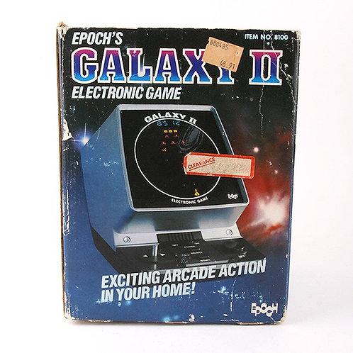 Galaxy II - Vintage 1981 Electronic Tabletop Arcade Game - Epoch