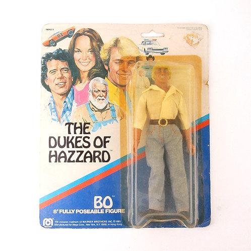 Bo Duke - Vintage 1981 The Dukes of Hazzard - Mego Action Figure