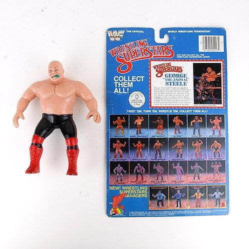 """George """"The Animal"""" Steele - Vintage 1985 WWF Wrestling Superstars - Ljn Toys"""