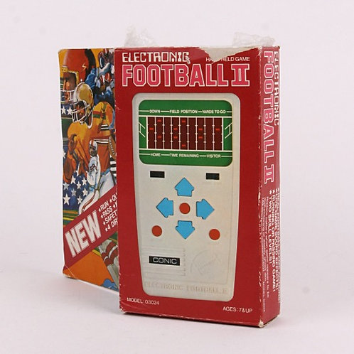 Football II - Vintage 1970's Electronic Handheld Sports Game - Conic