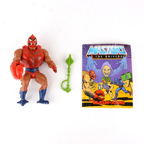 Clawful - Vintage 1984 Masters of the Universe - Action Figure - Mattel