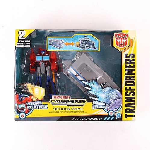 Optimus Prime - Modern 2017 Transformers Cyberverse Action Figure - Hasbro