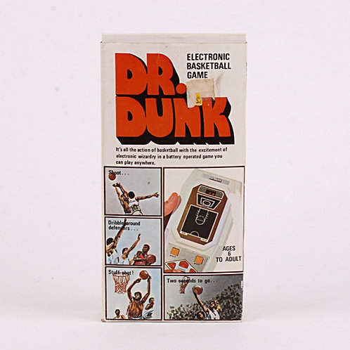 Dr. Dunk Basketball Vintage 1970's Electronic Handheld Sports Game - U.S. Games