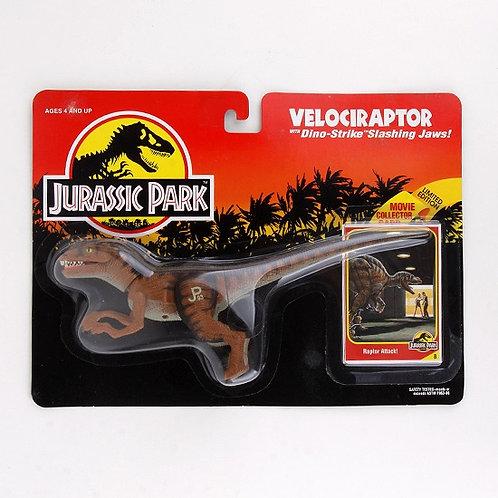 Velociraptor - Classic 1993 Jurassic Park Action Figure W1 - Kenner