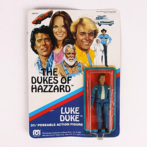 Luke Duke - Vintage 1981 The Dukes of Hazzard - Mego Action Figure