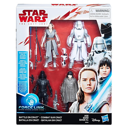 Battle on Crait - Modern 2017 Star Wars The Last Jedi Force Link - Hasbro