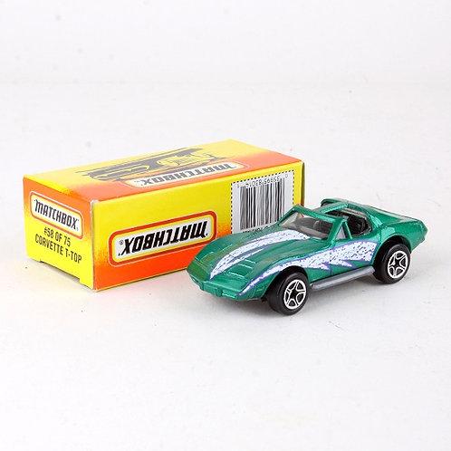 Corvette T-Top #58 - Classic 1996 Die Cast Vehicle - Matchbox