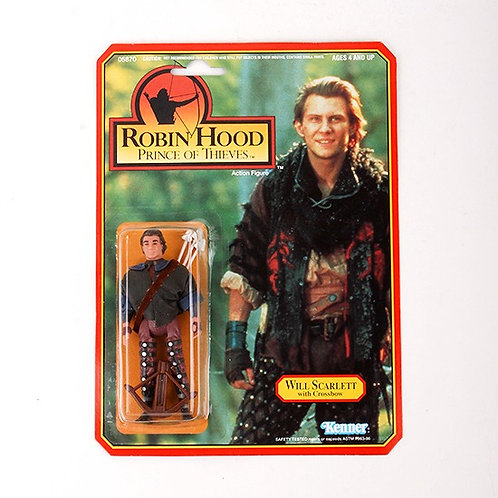 Will Scarlett - Classic 1991 Robin Hood Prince of Thieves - Kenner
