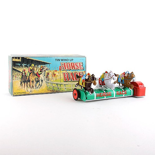 Horse Race - Classic Windup Tin Toy - Schylling