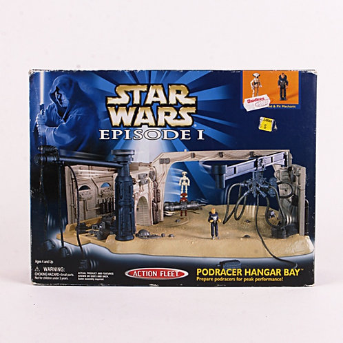 Podracer Hanger Bay - Classic 1999 Star Wars Episode 1 - Micro Machines