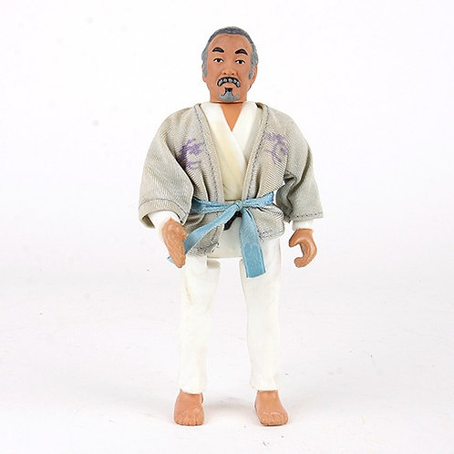 Mr. Miyagi - Vintage 1986 The Karate Kid - Action Figure - Remco
