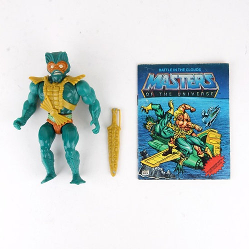 Mer-Man - Vintage 1982 Masters of the Universe - Action Figure - Mattel