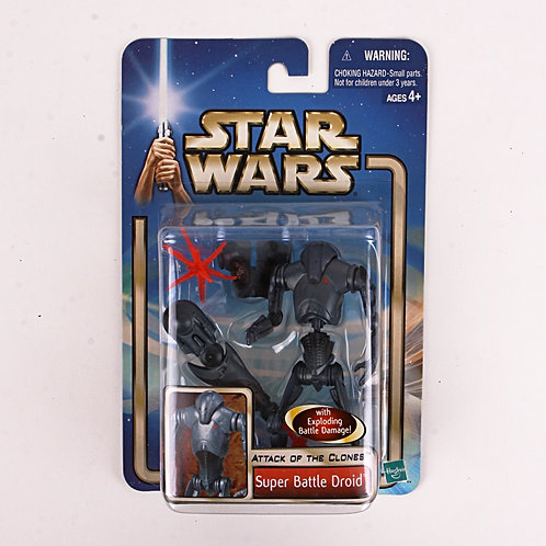 Super Battle Droid - Modern 2001 Star Wars Attack of the Clones - Action Figure