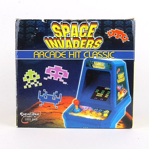 Space Invaders - Modern 2005 Electronic Tabletop Arcade Game - Excalibur