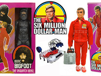 "Some Of The Coolest Toys From ""The Six Million Dollar Man"" Toy Line."