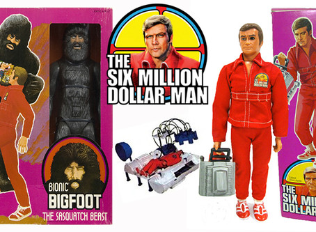 """Some Of The Coolest Toys From """"The Six Million Dollar Man"""" Toy Line."""