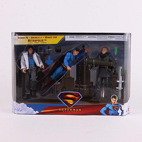 Menace to Metropolis - Modern 2006 Superman Returns - Action Figure  Mattel / DC