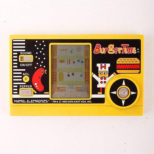 BurgerTime - Vintage 1982 Electronic Arcade Game - Mattel