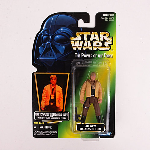 Luke Skywalker - Classic 1996 Star Wars Power of the Force - Action Figure
