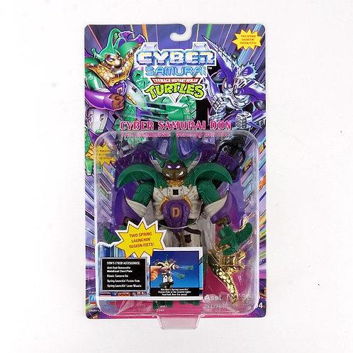 Cyber Samurai Don - 1994 Teenage Mutant Ninja Turtles Action Figure - Playmates