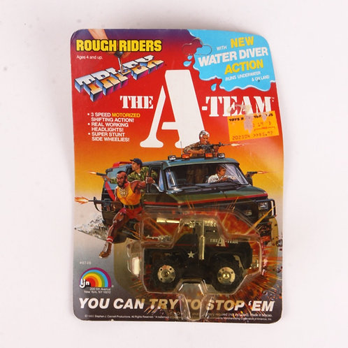 Battle Blaster - Vintage 1983 The A-Team Rough Riders Tri-Ex - Ljn Toys