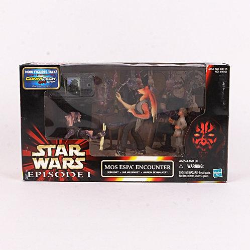 Mos Espa Encounter - 1999 Star Wars The Phantom Menace - Action Figures