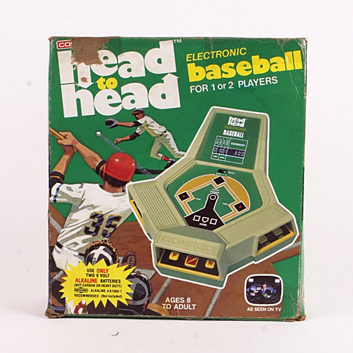 Head to Head Baseball - Vintage 1980 Electronic Tabletop Sports Game - Coleco