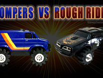 1980s BATTLE OF THE 4x4s: STOMPERS vs ROUGH RIDERS