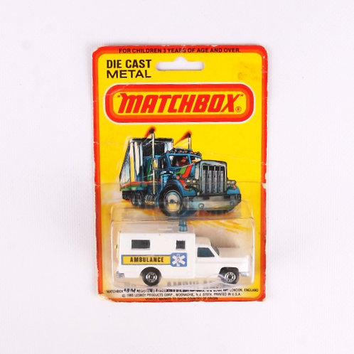 Ambulance #41 - Vintage 1980 Matchbox / Lesney Die Cast Vehicle