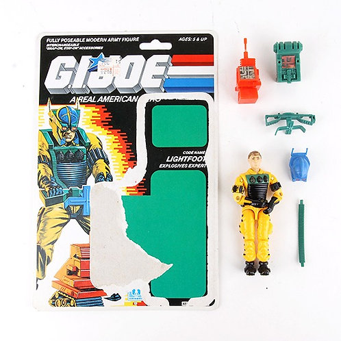Lightfoot - Vintage 1988 G.I. Joe Action Figure - Hasbro