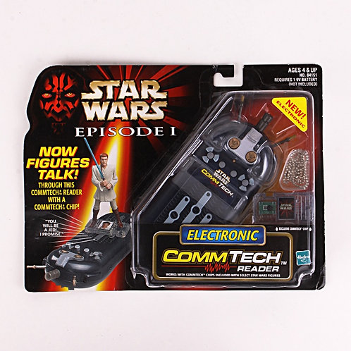 Electronic Commtech Reader - 1998 Star Wars The Phantom Menace - Action Figure