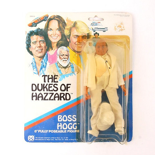 Boss Hogg - Vintage 1981 The Dukes of Hazzard - Mego Action Figure