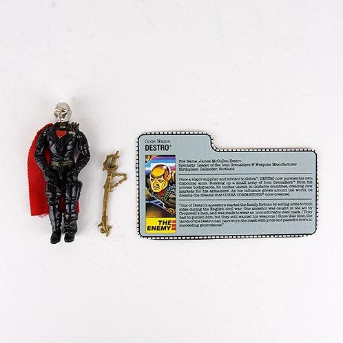 Destro - Vintage 1988 G.I. Joe Action Figure - Hasbro