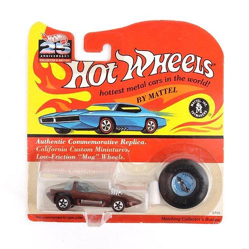 Silhouette - Classic 1992 Hot Wheels Die Cast Vehicle - Mattel