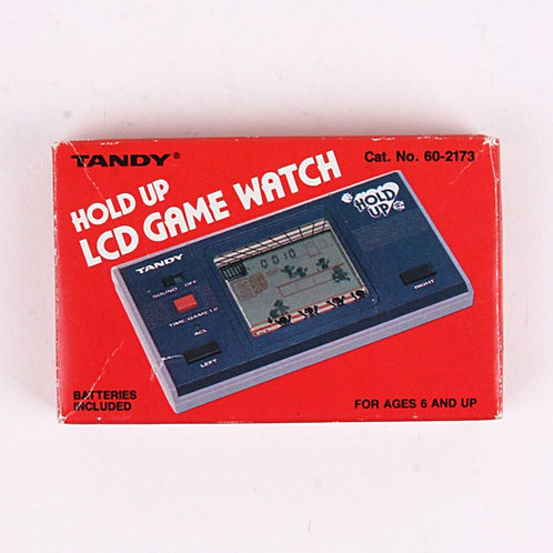 Hold Up - Vintage 1983 Electronic Arcade Game & Watch - Tandy