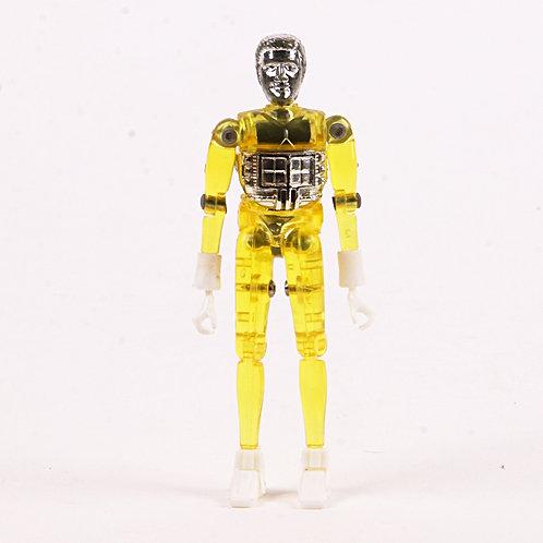 Yellow Time Traveler - Vintage 1976 Micronauts - Mego Action Figure