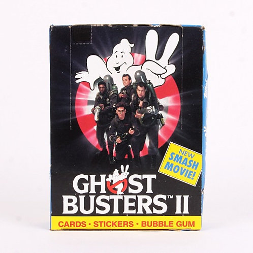 Ghostbusters II - Vintage 1989 Trading Movie Photo Cards Box 36ct - Topps