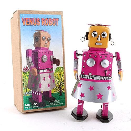 Venus Robot - Classic Windup Tin Toy