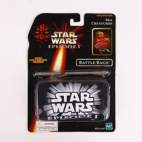 Sea Creatures - Classic 1998 Star Wars The Phantom Menace - Battle Bags
