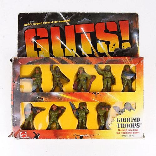 Ground Troops - Vintage 1986 GUTS Figures - Mattel