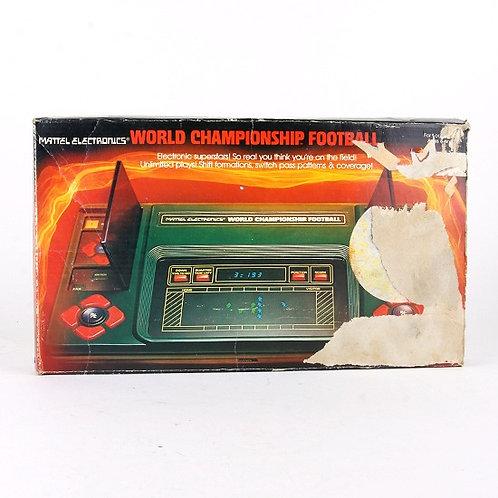 World Championship Football - Vintage 1980 Electronic Tabletop Game - Mattel