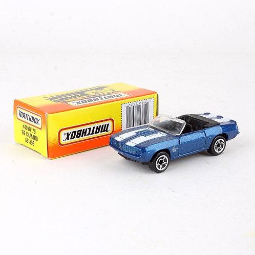'69 Camaro SS 369 #40 - Classic 1996 Die Cast Vehicle - Matchbox