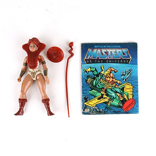 Teela - Vintage 1982 Masters of the Universe - Action Figure - Mattel