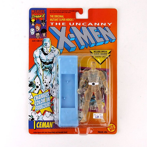 Iceman - Classic 1992 Marvel The Uncanny X-Men Action Figure - Toy Biz