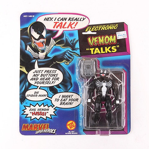 Venom - Classic 1991 Marvel Electronic Talking Action Figure - Toy Biz