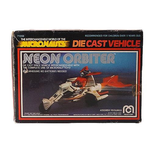 Neon Orbiter - Vintage 1977 Micronauts Die-Cast Vehicle - Mego