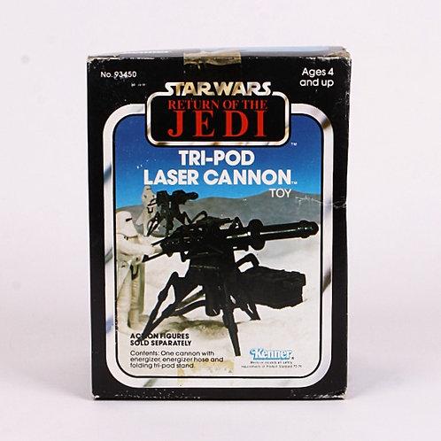 Tri-Pod Laser Cannon - Vintage 1982 Star Wars Return of the Jedi - Accessory